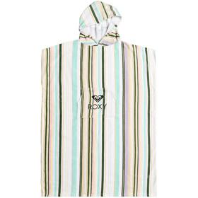 Roxy Stay Magical Solid Ręcznik Ponczo Kobiety, bright white kamuela stripe